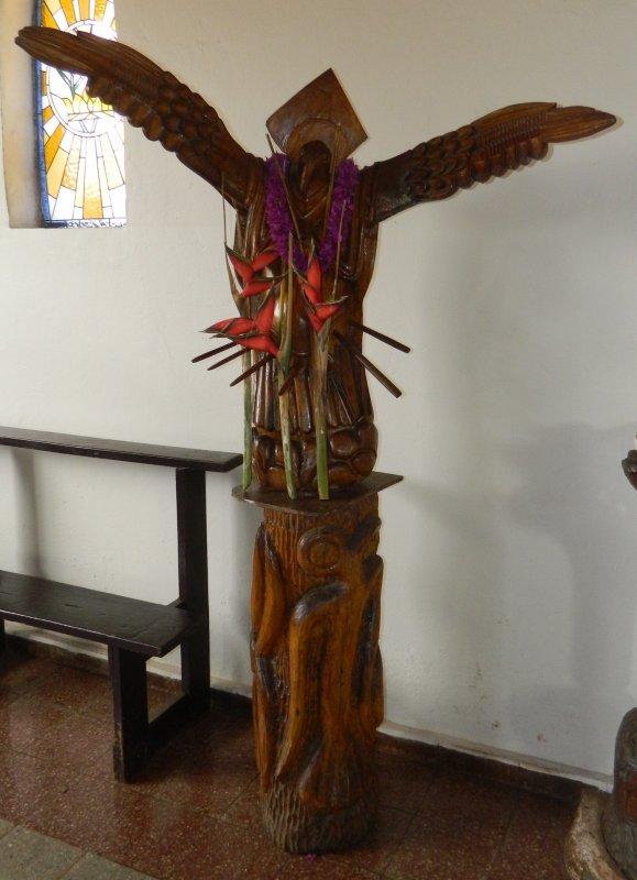 Hanga Roa - Eglise (09/12/2013) - 4