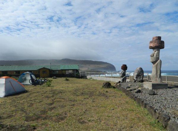 Hanga Roa - camping (09/12/2013)