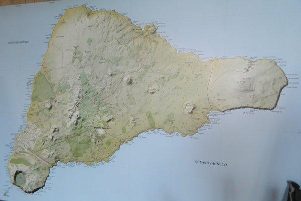 Carte de l'IDP