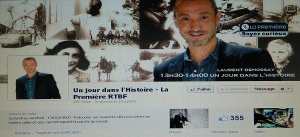"""Emission """"Un jour dans l'histoire"""" avec Nicolas Cauwe (13/03/2014)"""