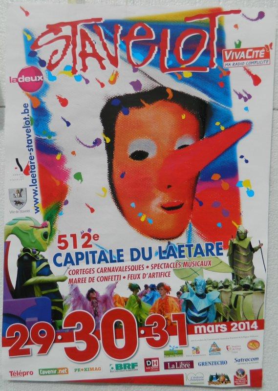 Laetare de Stavelot - 30/03/2014 (1/2)