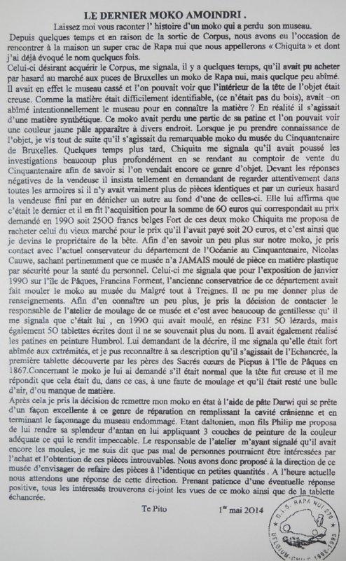 """220e article de FD: """"Le dernier moko amoindri"""" (1/2)"""