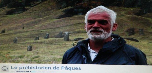 """""""Le préhistorien de Pâques"""" (2012) de Philippe Axell (10'32"""")"""