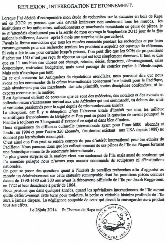 """226e article de FD: """"Réflexion, interrogation et étonnement"""""""