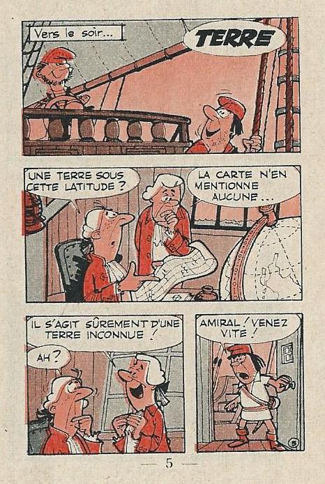 Mini-récit du journal de Spirou du 14/04/1960 (1/5)