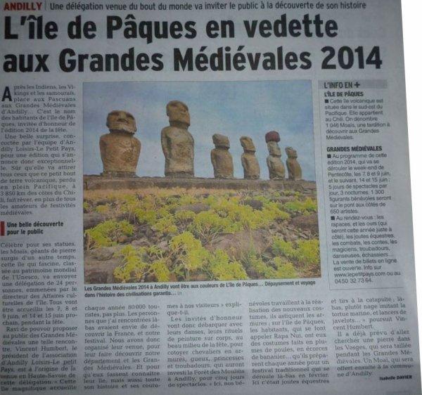 Grandes Médiévales d'Andilly (Suisse) - 07, 08, 09, 14 & 15/06/2014 - 1