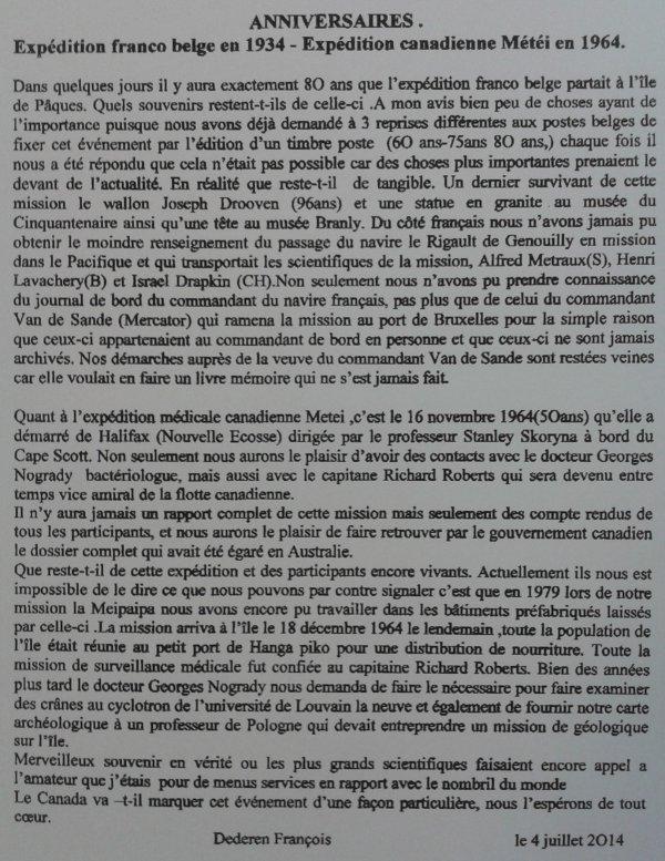 """228e article de FD: """"Anniversaires: Expédition franco belge en 1934 - Expédition canadienne Météi en 1964"""""""