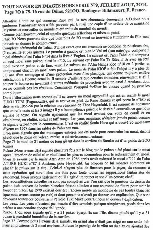 """Magazine """"Tout savoir en images"""" - Hors série n° 9 de juillet-août 2014"""
