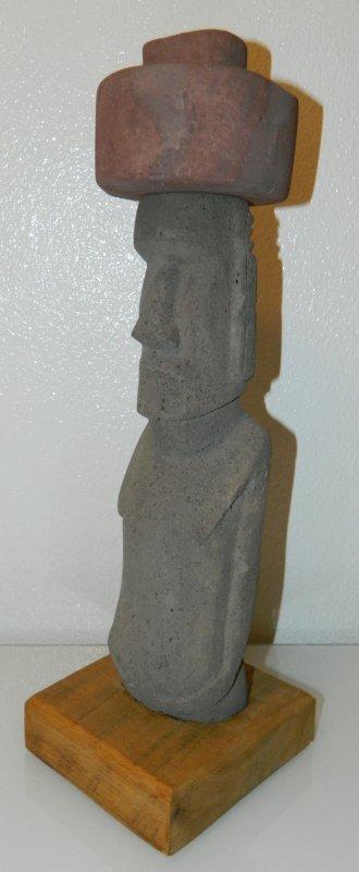 Soclage d'un moai de berphi (08/08/2014) - 1