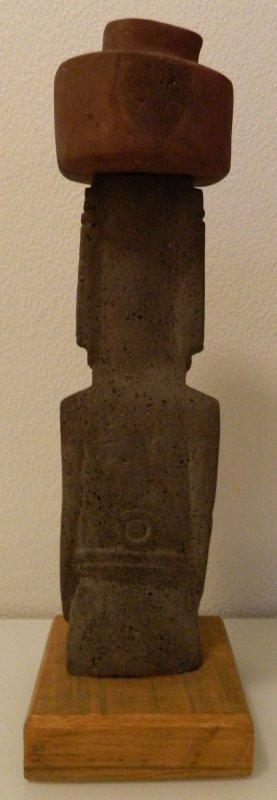 Soclage d'un moai de berphi (08/08/2014) - 2