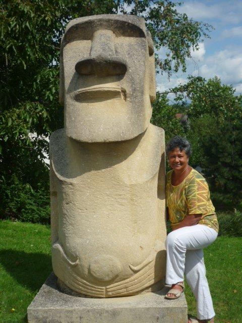 Le moai de Courpière (France)