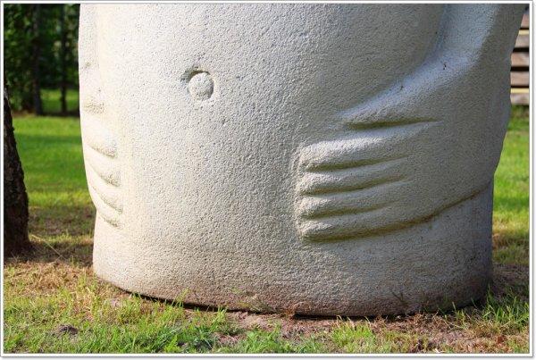 Une copie du moai du British Museum en vente sur ebay (13/09/2014) - 1