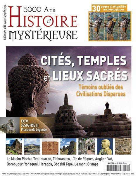 """Critique de Te Pito pour un article de la revue: """"5000 ans d'histoire mystérieuse"""" n° 23 (2014)"""