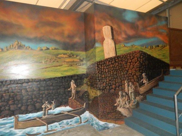 "Visite de l'exposition permanente ""Rapa Nui"" à Güimar - Tenerife (18/10/2014) - 3"