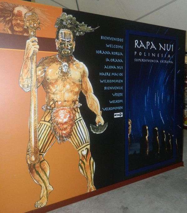"Visite de l'exposition permanente ""Rapa Nui"" à Güimar - Tenerife (18/10/2014) - 5"