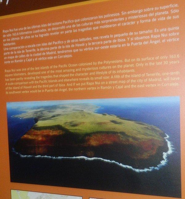 "Visite de l'exposition permanente ""Rapa Nui"" à Güimar - Tenerife (18/10/2014) - 13"
