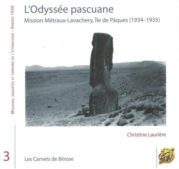 """Nouveau livre sur l'IDP: """"L'Odyssée pascuane"""" de Christine Laurière (2014)"""