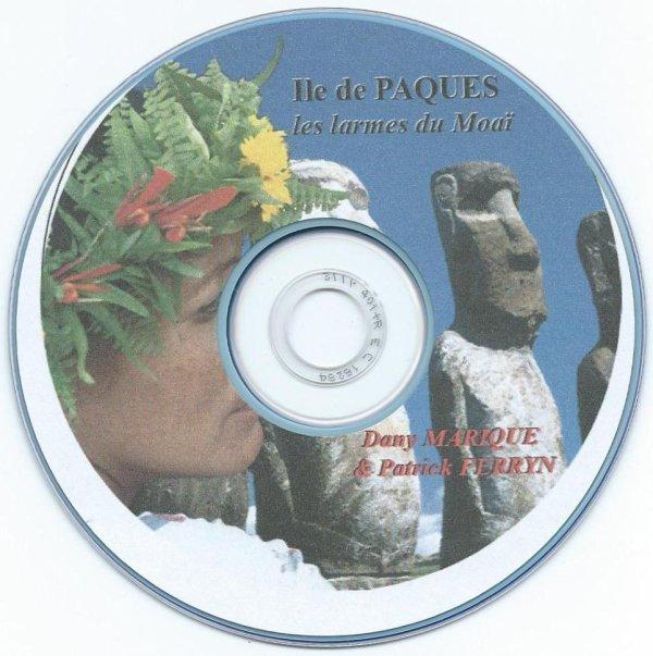 """DVD """"Les larmes du Moai"""" (11/2014) de Dany Marique & Patrick Ferryn (1/2)"""