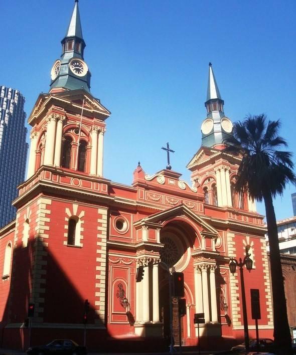 Museo Iglesia de la Merced, Santiago Chile (photos de Roberto Valenzuela)