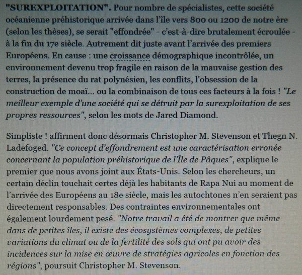 """L'effondrement de l'IDP est remis en question"" par Bernadette Arnaud (S&A - 15/01/2015)"