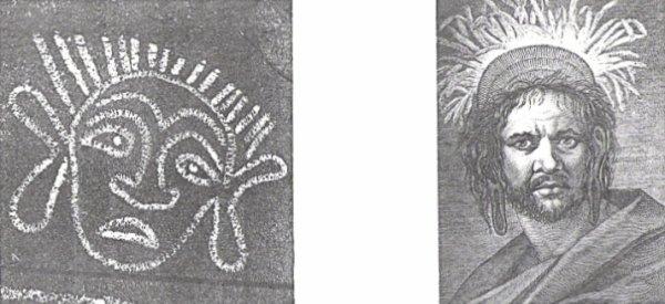 """""""Les pétroglyphes de l'île de Pâques"""" (1939) d'Henri Lavachery"""
