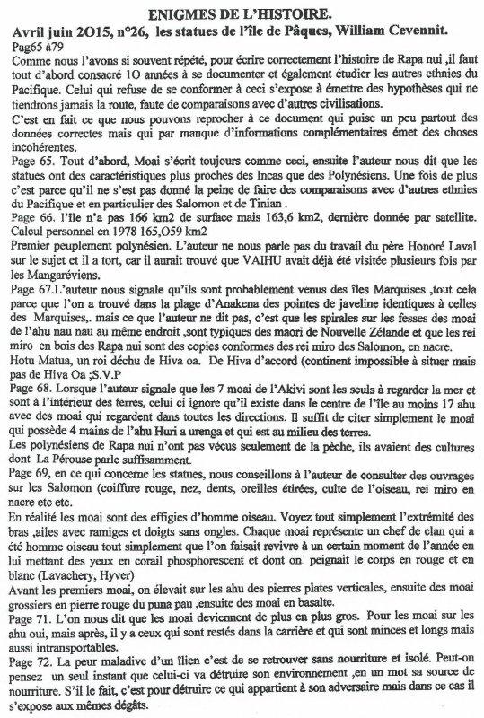 """Revue trimestrielle: """"Les Enigmes de l'Histoire"""" n° 26  (avril/juin 2015)"""
