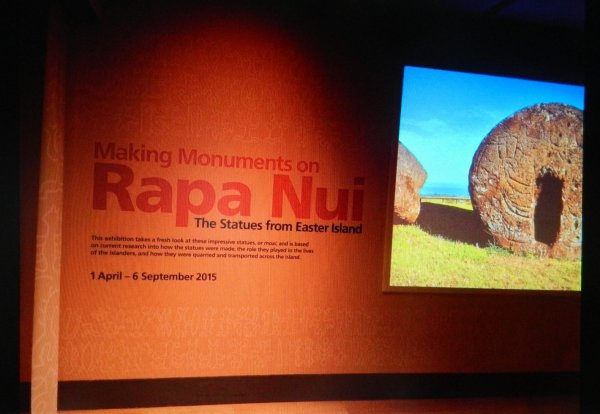 "Exposition: ""The Making Monuments on Rapa Nui"" à Manchester (01/04 > 06/09/2015) - 9"