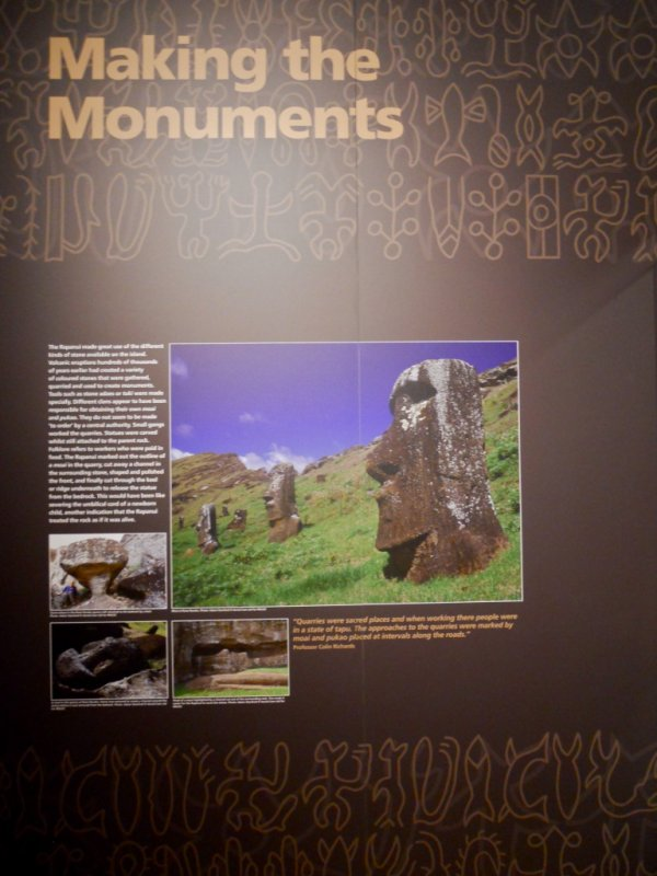 """Exposition: """"The Making Monuments on Rapa Nui"""" à Manchester (01/04 > 06/09/2015) - 18"""