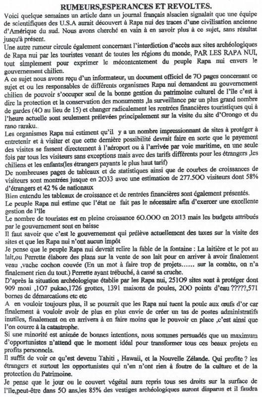 """252e article de FD: """"Rumeurs, espérances et révoltes"""""""