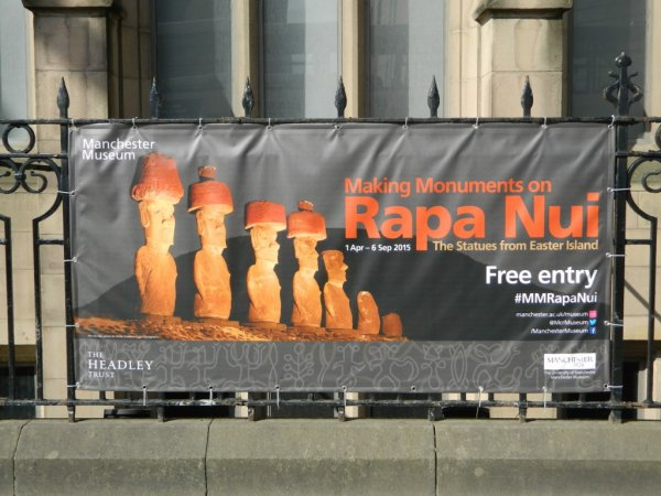 "Visites de l'exposition ""Making Monuments on Rapa Nui"" à Manchester (13 & 14/05/2015) - 1"