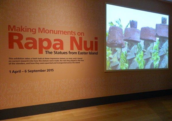 """Visites de l'exposition """"Making Monuments on Rapa Nui"""" à Manchester (13 & 14/05/2015) - 3"""