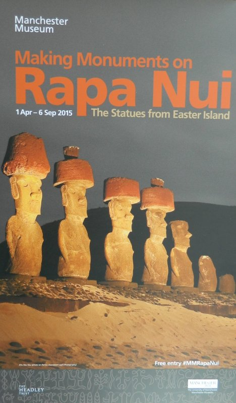 "Visites de l'exposition ""Making Monuments on Rapa Nui"" à Manchester (13 & 14/05/2015) - 3"