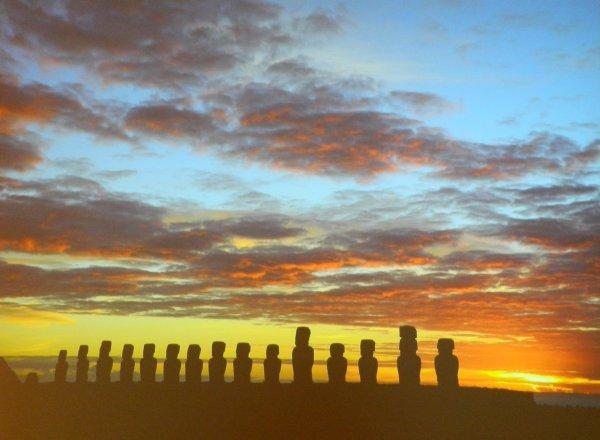 """Visites de l'exposition """"Making Monuments on Rapa Nui"""" à Manchester (13 & 14/05/2015) - 4"""