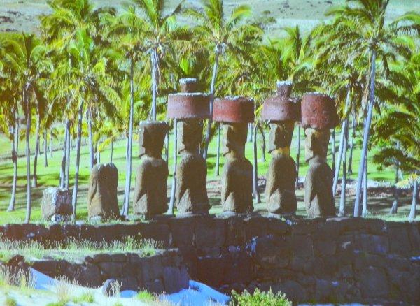"""Visites de l'exposition """"Making Monuments on Rapa Nui"""" à Manchester (13 & 14/05/2015) - 7"""