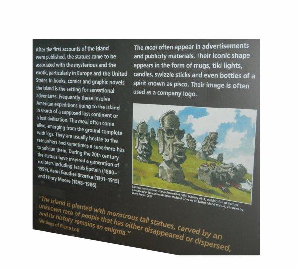 """Visites de l'exposition """"Making Monuments on Rapa Nui"""" à Manchester (13 & 14/05/2015) - 9"""