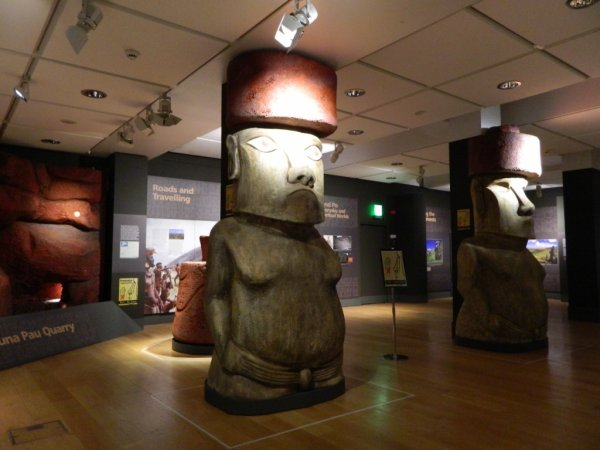 "Visites de l'exposition ""Making Monuments on Rapa Nui"" à Manchester (13 & 14/05/2015) - 13"