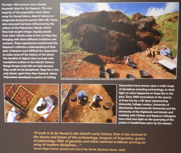 """Visites de l'exposition """"Making Monuments on Rapa Nui"""" à Manchester (13 & 14/05/2015) - 13"""