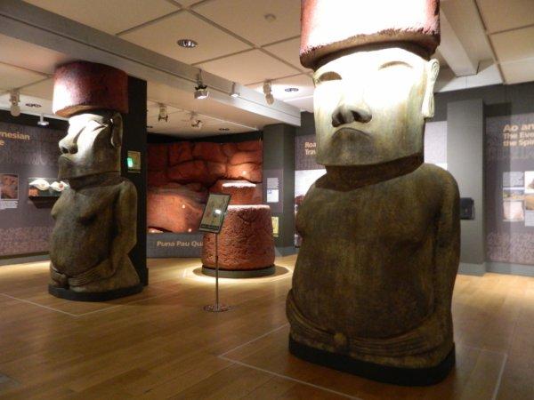"""Visites de l'exposition """"Making Monuments on Rapa Nui"""" à Manchester (13 & 14/05/2015) - 14"""