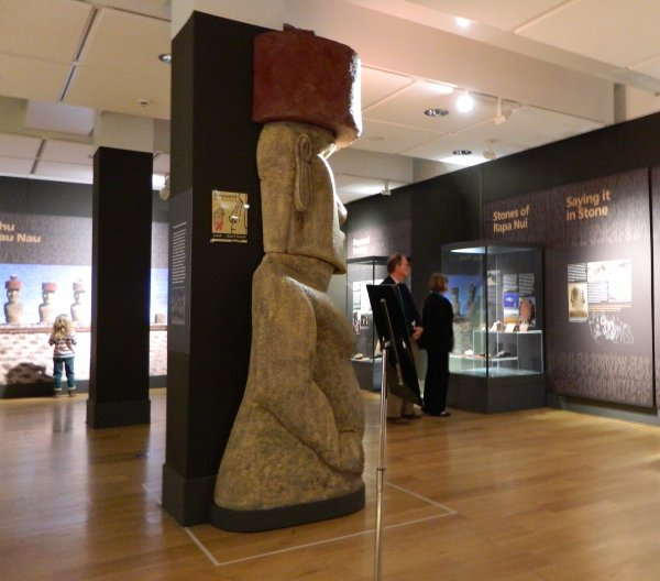 "Visites de l'exposition ""Making Monuments on Rapa Nui"" à Manchester (13 & 14/05/2015) - 15"