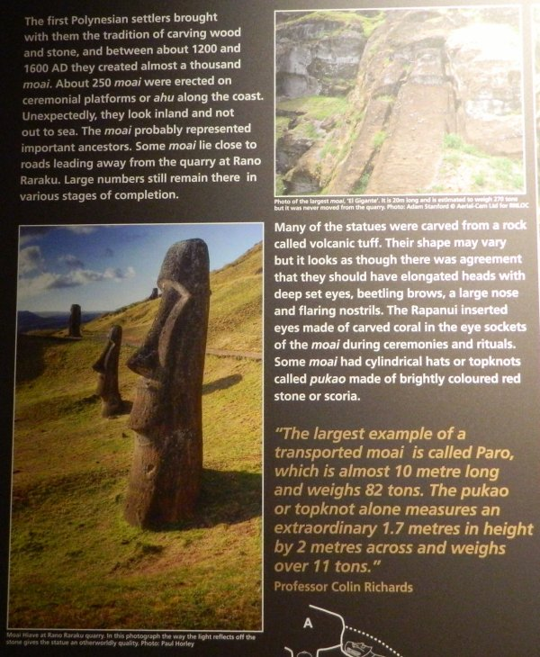 "Visites de l'exposition ""Making Monuments on Rapa Nui"" à Manchester (13 & 14/05/2015) - 16"