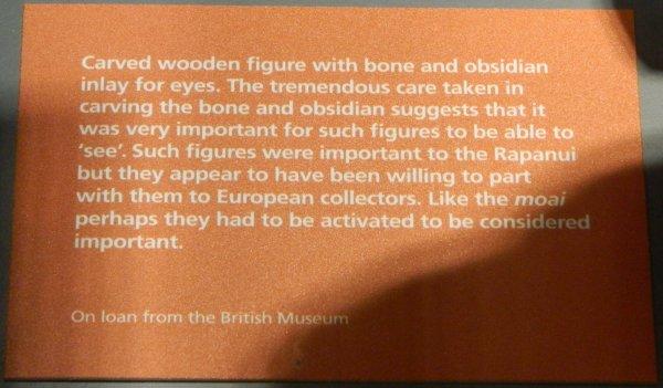 """Visites de l'exposition """"Making Monuments on Rapa Nui"""" à Manchester (13 & 14/05/2015) - 19"""