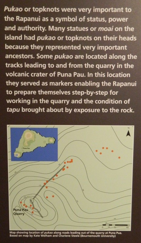 """Visites de l'exposition """"Making Monuments on Rapa Nui"""" à Manchester (13 & 14/05/2015) - 22"""