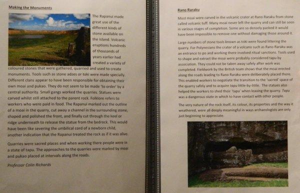 """Visites de l'exposition """"Making Monuments on Rapa Nui"""" à Manchester (13 & 14/05/2015) - 25"""