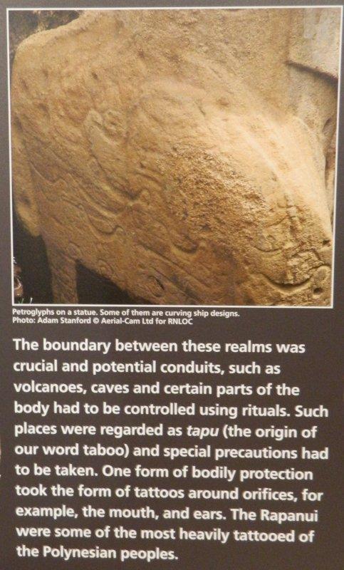 """Visites de l'exposition """"Making Monuments on Rapa Nui"""" à Manchester (13 & 14/05/2015) - 26"""