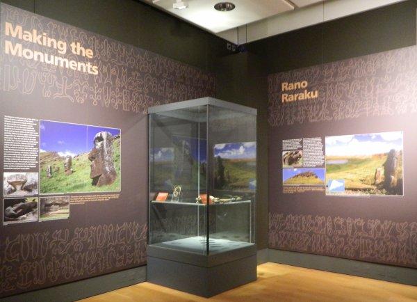 """Visites de l'exposition """"Making Monuments on Rapa Nui"""" à Manchester (13 & 14/05/2015) - 27"""