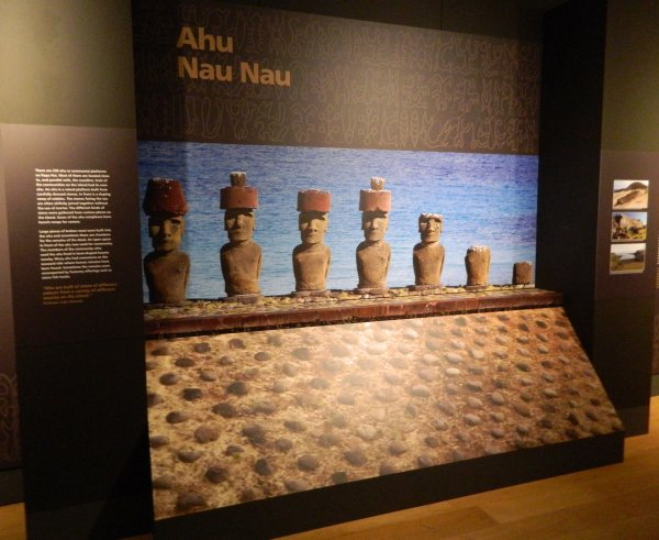 "Visites de l'exposition ""Making Monuments on Rapa Nui"" à Manchester (13 & 14/05/2015) - 29"