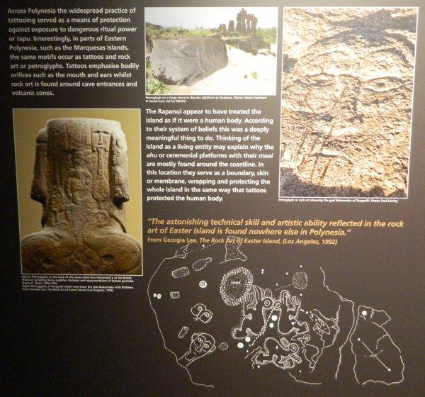 """Visites de l'exposition """"Making Monuments on Rapa Nui"""" à Manchester (13 & 14/05/2015) - 34"""