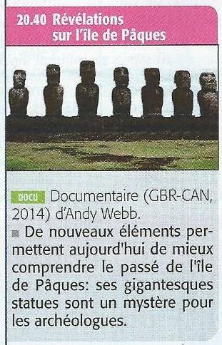 Critique de François Dederen à propos du documentaire de France 5, diffusé le 21/08/2015