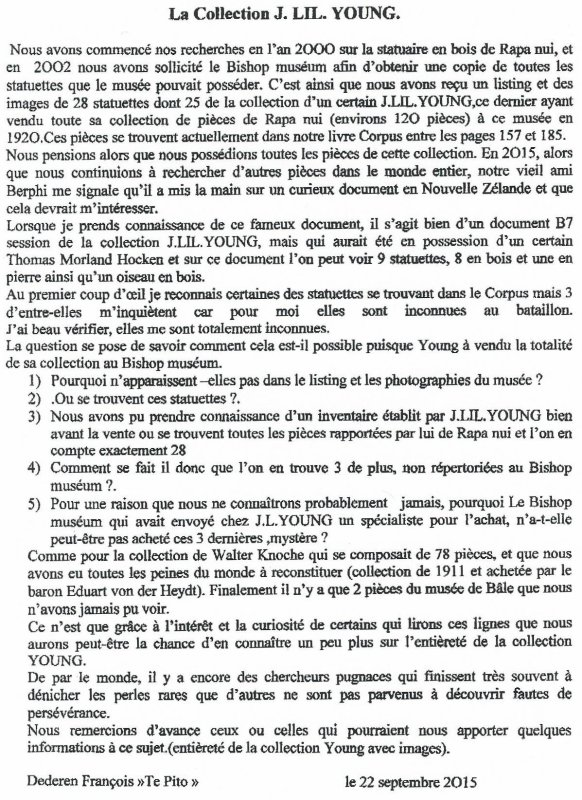 """263e article de FD: """"La collection J. LIL. YOUNG"""""""
