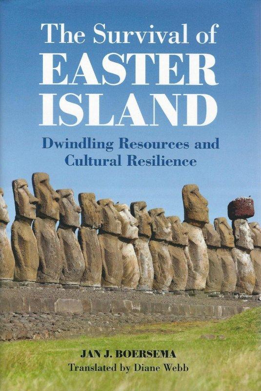 """Nouveau livre sur l'IDP en anglais """"The survival of Easter Island"""" de Jan Boersema (2015)"""
